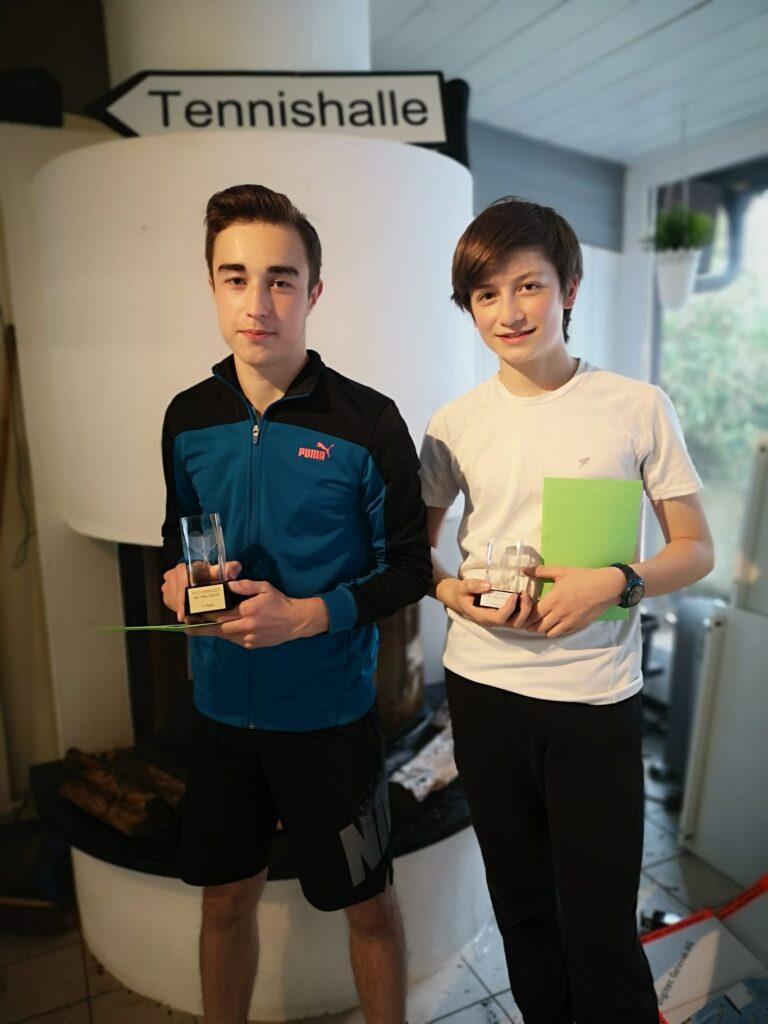 Rüti Open 2021: Finalisten der Kategorie MS U16 R6-R9